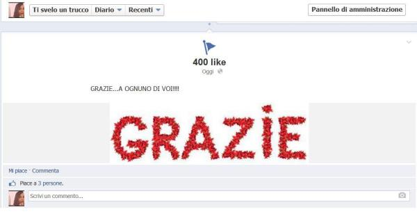 400 like grazie