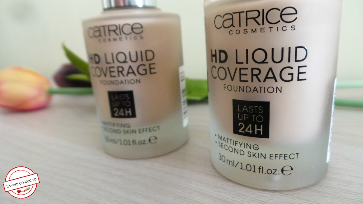 HD Liquid Coverage Foundation Catrice - Review